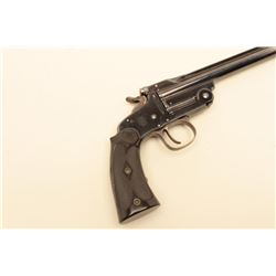 Smith  Wesson 1891 single shot .22 caliber target pistol