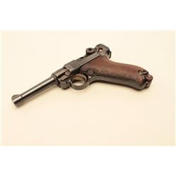 1912 dated Luger by D.W.M. in 9mm with no stock