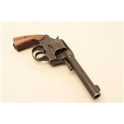 Colt Model 1917 Double Action revolver in .45 ACP caliber,