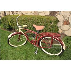 1951 Schwinn Meteor bicycle all Original Survivor with original saddle,