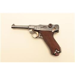 1914 dated Luger by D.W.M. in 9mm, 792 in original
