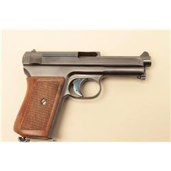 1915 dated Luger by D.W.M., S/N 6777. 85%-95% original blue