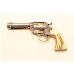 Colt Bisley Model Single Action revolver in .44-40 caliber with