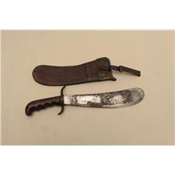 Hospital Corps. bolo knife dated 1914 with 1912-dated R.I.A. leather