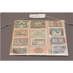 German currency. Inflation currency. Nicely framed. By the height of