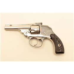 Forehand 1901 Double Action .32 caliber hammerless revolver, S/N 3817.