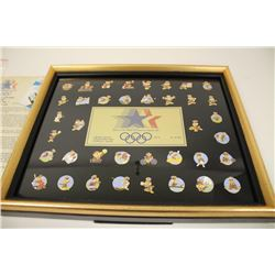 Framed limited edition Series No. 1 collector set of Official