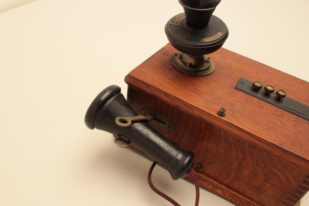 Monarch Telephone Mfg Co Vintage Wooden Wall Phone The Phone