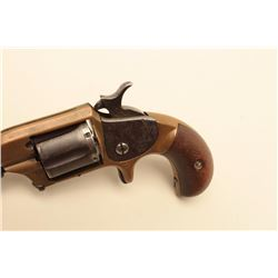 Whitney Arms Co. .30 caliber rim fire revolver with brass
