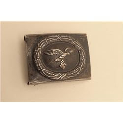 Nazi belt buckle; good condition overall. Est.: $40-$80.