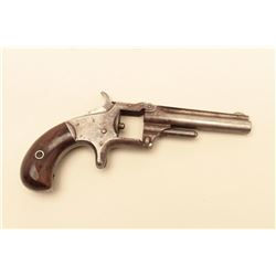 Smith  Wesson 1st Model 3rd issue .22 caliber revolver,