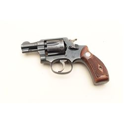 "Smith & Wesson 5-screw DA revolver, .32 Long  caliber, 2"" barrel, blued finish, checkered  wood meda"