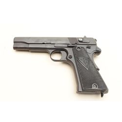"Polish Radom Model 35 semi-automatic pistol,  nazi proofed, 9mm caliber, 4.5"" barrel,  refinished, c"