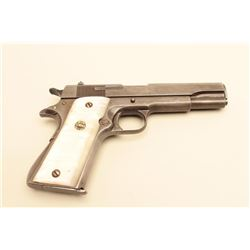 Star semi-automatic pistol, .38 Super caliber, 5 barrel, import-marked, simulated