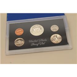 United States Proof set dated 1969.  The US  proof set features a Kennedy half dollar,  Washington q