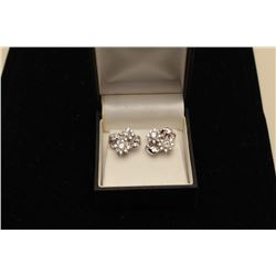 2kt diameter earrings tw high quality 14kt wg. Custom and