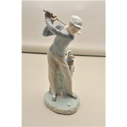 Lladro Golfer in box. Est.: $100-200