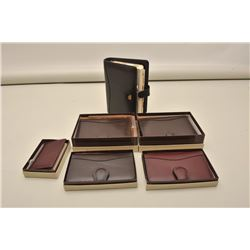 6 Scully leather vintage ladies accessories box. Est.: $100-200