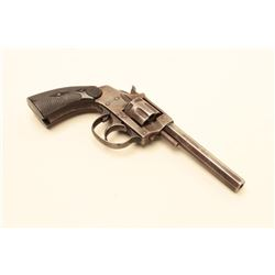 "H&R Model 1906 .22 caliber Double Action  revolver with octagon barrel reduced to 3 ¾"".  Fair condit"