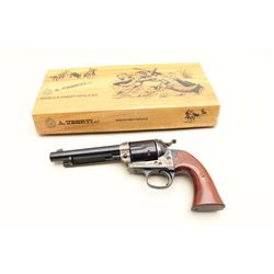 "Uberti-made for Taylors & Co. Bisley Model  single action revolver, .38-40 caliber, 5.5""  barrel, bl"