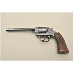 "Iver Johnson Target Sealed 8, #M47262, .22  LR, 6"" barrel, checkered wood grips.  Very  good to fine"