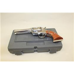 Ruger Vaquero Stainless Steel Single Action  revolver in .40 S&W caliber San Diego  Sheriffs Edition