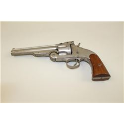 Marriage by Mexican Gunsmith of a Smith  &Wesson revolver and Merwin & Hulbert frame  in .44 S&W  ca