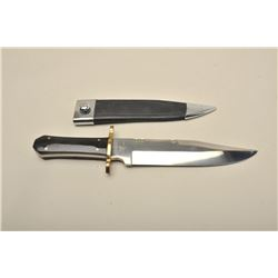 J. Henry Bowie knife with horn grip classic style 14