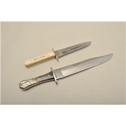 "1. James and Lowe England 1960s gifted by  Bill Williamson to S.B.A.C. Les Gillman  15.25"" overall,"