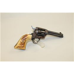 "Colt Peacemaker .22 caliber Single Action  revolver with 4 ½"" barrel, S/N G139606.  98%-99% in box w"