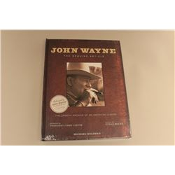 John Wayne-The Genuine Article by Michael Goldman, sealed  unopened.