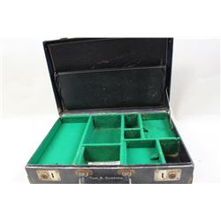 Tom Cunning's (Winchester Employee) salesman  sample ammo display case. John Beckwith  collection. E