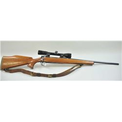 Enfield Model 1917 sporter in .30-06 caliber  mounted with 3x9 Redfield scope. Turned  military barr
