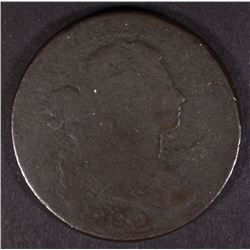 1800/79 DRAPED BUST LARGE  CENT, AG/G