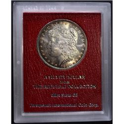 1896 MORGAN DOLLAR MS 65 REDFIELD COLLECTION