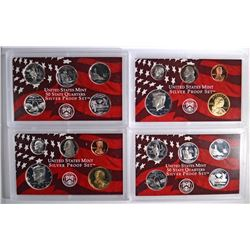 (2) 2003 United States Mint Silver Proof Sets.