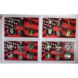 (2) 2005 United States Mint Silver Proof Sets