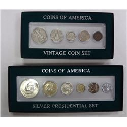 2 Coins of America Sets