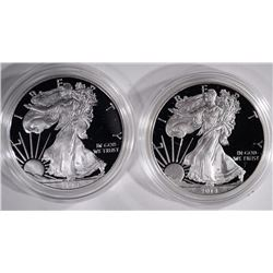 (2) 2014 Proof American Silver Eagles
