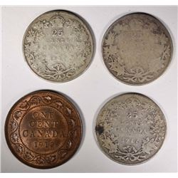 CANADIAN COIN LOT;