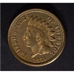 1861 INDIAN HEAD CENT CH BU