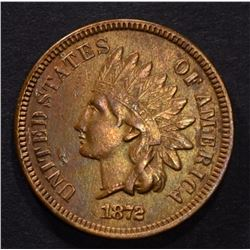 1872 INDIAN HEAD CENT AU