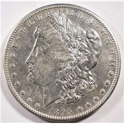 1895-S MORGAN DOLLAR XF+