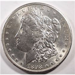 1898-S MORGAN DOLLAR AU/UNC