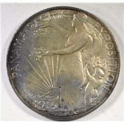 1915-S PANAMA-PACIFIC HALF DOLLAR COMMEMORATIVE