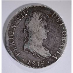 1819 MEXICO CITY JJ  8 REALES