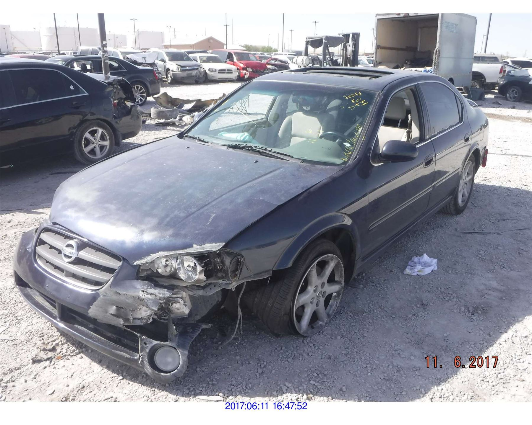 Nissan Salvage For Sale Repairable Cars At Auction Prices: NISSAN MAXIMA//REBUILT SALVAGE