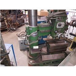 Kao Ming Radial Drill