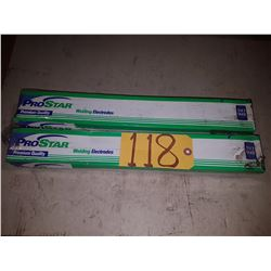Box of ProStar Welding Electrodes 5/32'' x 18''