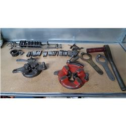 Ridgid tool, parts and knives